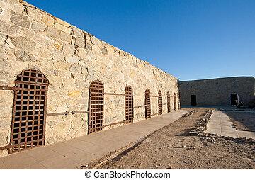 Yuma territorial prison cells - Yuma territorial prison,...