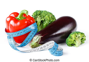 Vegetables for a diet.
