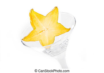 glass and carambola