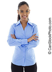 Busineswoman - Stock image of confident businesswoman...