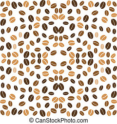 coffee background seamless beans - coffee background...