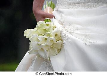 wedding bouquet from kalls