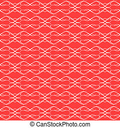 background red seamless Floral