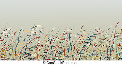 Reed foreground