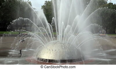 International Fountain in Seattle Washington