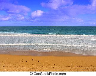 Logans Beach - Victoria, Australia - Logans beach along the...
