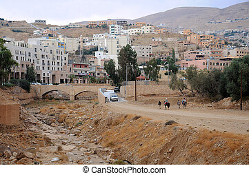 Town of Petra in Jordan