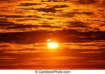 céu, amanhecer