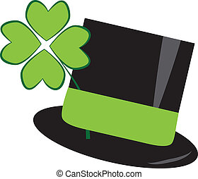 St Patricks Day Hat - Isolated St Patricks Day Hat
