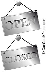 Open / Closed Signs