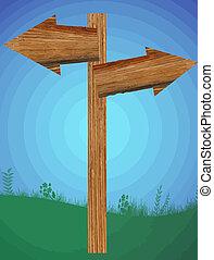 Blank wooden pointer