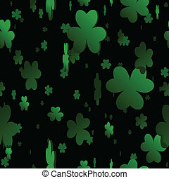 Seamless clover background