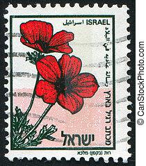 stamp - ISRAEL - CIRCA 1992: stamp printed by Israel, shows...
