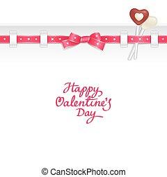 Valentine candy background - Valentine background decorated...