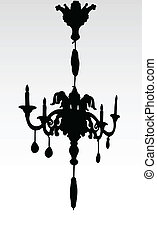 Chandelier illustration