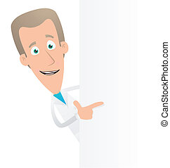 doctor - Illustration of a cartoon cute character for use in...