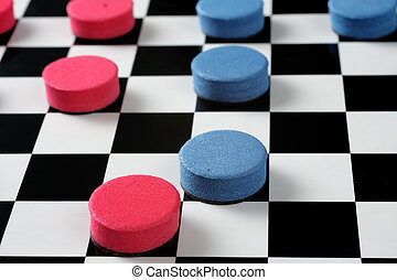 Checkers - Game photo Checkers