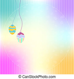 Easter Background - Vector