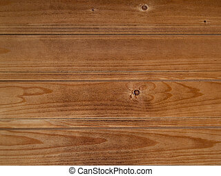 Worn pinewood paneling - Horizontal pine paneling from a...