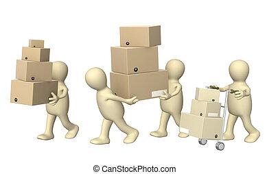 Delivering