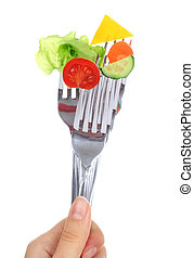 grönsaken, Vägskäl