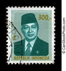 Postage stamp. - INDONESIA - CIRCA 1986: A stamp dedicated...