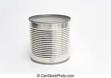 Tin Can - Tin can on a white background
