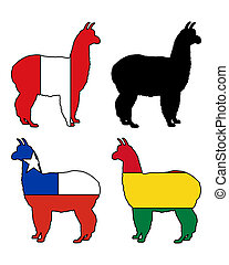 Alpaca flags
