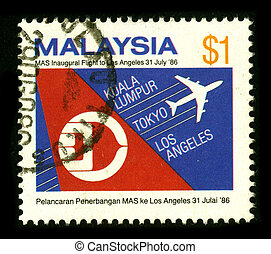 Postage stamp. - MALAYSIA - CIRCA 1986: A stamp dedicated to...