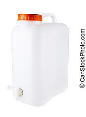 Water Container - Water container isolated on a white...