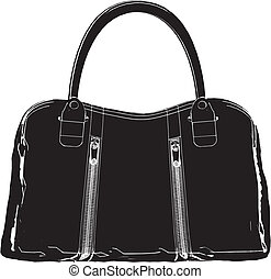 Woman's Bag Vector