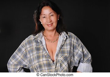 Sexy Mature Asian Woman