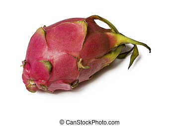 Pitahaya - Fresh and colorful pitahaya fruit solated on...