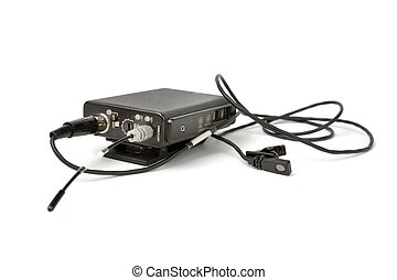 Wireless Microphone - Wireless lavalier microphone...