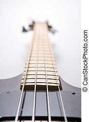 Bass Guitar - Electric bass guitar with four strings