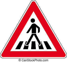 traffic signs in road traffic