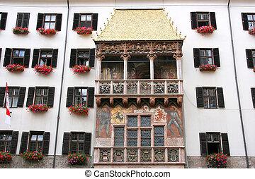 Innsbruck - Famous landmark in Innsbruck, Tirol, Austria -...