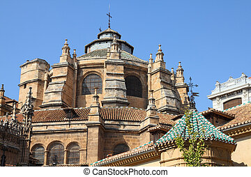 Granada cathedral - Granada in Andalusia region of Spain...