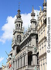 Bruxelles - Famous building: Maison du Roi (The King's House...