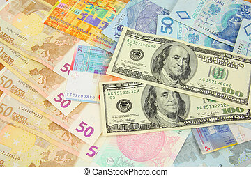 Currencies - World finance and foreign currency exchange...