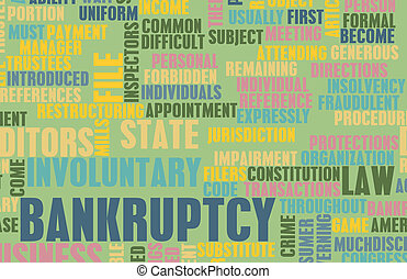 Bankruptcy as a Business Concept in Art