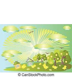 Nature,ecology background