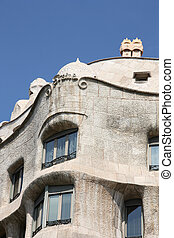 Casa Mila - Beautiful modernisme architecture by Antoni...