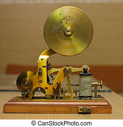 old telegraph - very nice telegraph as old technological...