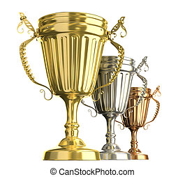 Winner award cups