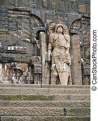battle of the nations monument in leipzig (germany)