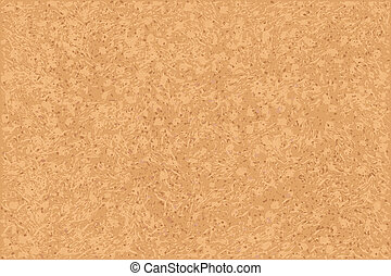 Cork-Board Background, Vector Illustration
