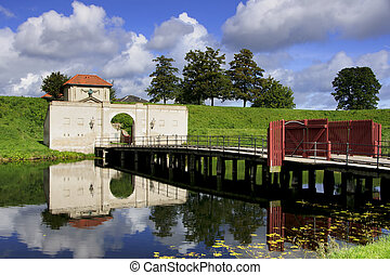 Copenhagen's Kastellet gate. - Beautiful combaination of...