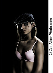 Old Style lingerie - Old style image lingerie model