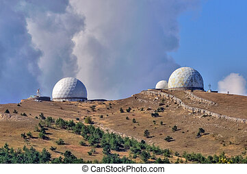 Observatory for space surveillance on a mountain top